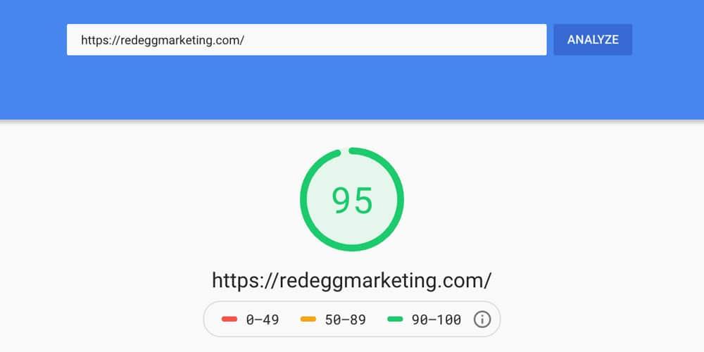 WordPress custom developed website delivers improved page speed